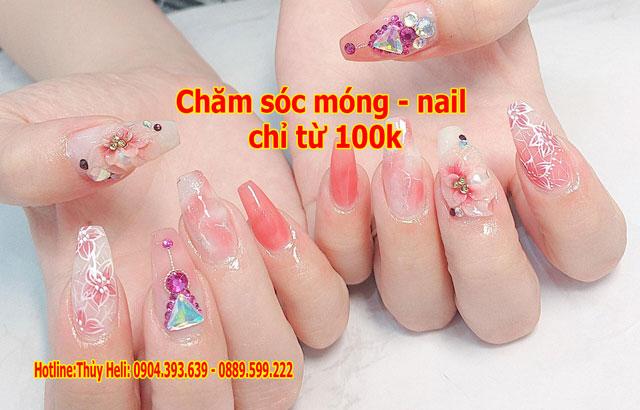 Dịch vụ chăm sóc móng – nail ở đâu đẹp và rẻ tại Hà Nội?